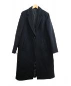 icB(アイシービ)の古着「Wool Beaverチェスターコート」|ブラック