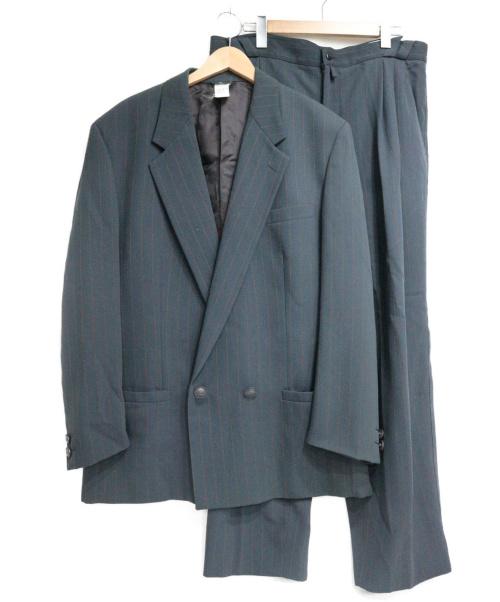 GIANNI VERSACE(ジャンニヴェルサーチ)GIANNI VERSACE (ジャンニヴェルサーチ) セットアップスーツ グレー サイズ:54の古着・服飾アイテム