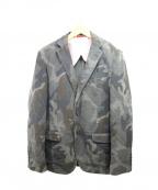 BROOKS BROTHERS Red Fleece(ブルックスブラザーズレッドフリース)の古着「カモフラテーラードジャケット」|グリーン