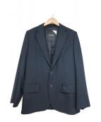 ATON(エイトン)の古着「テーラードジャケット」|ネイビー