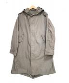BRU NA BOINNE(ブルーナボイン)の古着「ミリタリーコート」|グレー