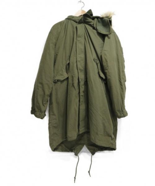 AVIREX(アビレックス)AVIREX (アビレックス) M-65 フィールド パーカー グリーン サイズ:SIZE L 参考定価34,000円の古着・服飾アイテム