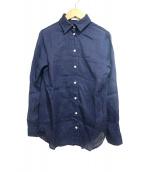 MADISON BLUE(マディソンブルー)の古着「MADAME SHIRT」|ネイビー