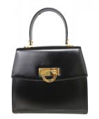 CELINE (セリーヌ) ホースビットオールドハンドバッグ ブラック サイズ:- F/04