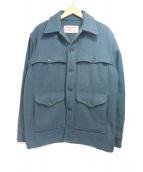 FILSON GARMENT(フィルソンガーメント)の古着「ダブルマッキーノクルーザー ウールハンティングジャケット」|グリーン