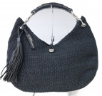 TOFF&LOADSTONE(トフアンドロードストーン)の古着「カゴハンドバッグ」 ブラック