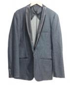 BURBERRY BLACK LABEL(バーバリーブラックレーベル)の古着「イブニングジャケット」|インディゴ