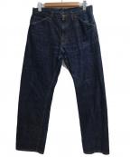 STABILIZER GNZ(スタビライザージーンズ)の古着「0-08 CLASSIC STRAIGHT」|ネイビー
