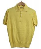 CRUCIANI(クルチアーニ)の古着「ポロシャツ」|イエロー