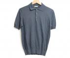 CRUCIANI(クルチアーニ)の古着「ポロシャツ」 グレー