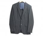 Paul Smith London(ポールスミスロンドン)の古着「シルク混テーラードジャケット」|ブラック