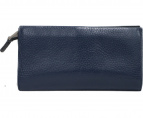 ck Calvin Klein(シーケーカルバンクライン)の古着「二つ折り長財布」|ネイビー