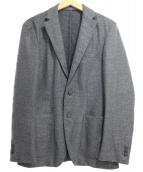 EDIFICE(エディフィス)の古着「2Bカシミヤ混ウールテーラードジャケット」 グレー