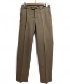 PT01(ピーティーゼロウーノ)の古着「トラウザーパンツ」 ブラウン