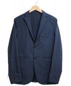 PLST(プラステ)の古着「ストレッチテーラードジャケット」|ネイビー