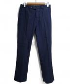 PT05(ピーティーゼロチンクエ)の古着「センタープレスパンツ」|ネイビー