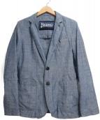 HERNO(ヘルノ)の古着「テーラードジャケット」|ブルー