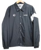 REEBOK CLASSIC(リーボック クラッシク)の古着「コーチジャケット」|ブラック