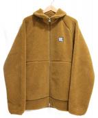 HELLY HANSEN(ヘリーハンセン)の古着「ボアフリースジャケット」|ブラウン