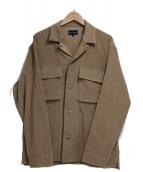 YELLOW RUBY(イエロールビ)の古着「Fake suede jacket」|ベージュ