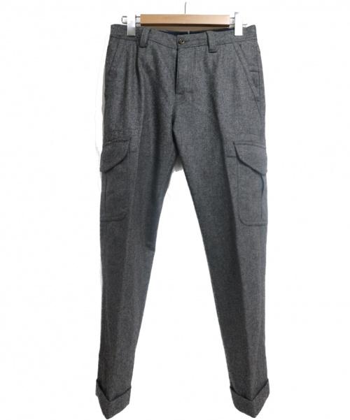 G.T.A×BEAMS F(ジーティーアー×ビームスエフ)G.T.A×BEAMS F (ジーティーア×ビームスエフ) ウールパンツ グレー サイズ:SIZE 44の古着・服飾アイテム