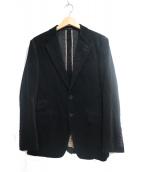 Paul Smith London(ポールスミスロンドン)の古着「コーデュロイテーラードジャケット」|ブラック