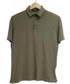 Zanone(ザノーネ)の古着「アイスコットンポロシャツ」|カーキ