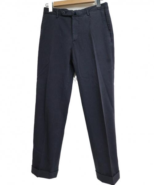 INCOTEX(インコテックス)INCOTEX (インコテックス) コットンパンツ ネイビー サイズ:SIZE 44 SLOWEARの古着・服飾アイテム
