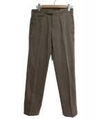 GTA TWISTED(ジーティーアー ツイステッド)の古着「コットンパンツ」|ブラウン