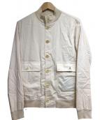 VALSTARINO(ヴァルスタリーノ)の古着「バルスターブルゾン」|アイボリー