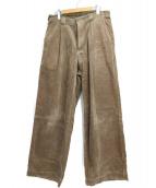 DANTON(ダントン)の古着「コーデュロイパンツ」|ブラウン