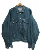 GUESS(ゲス)の古着「[古着]80'Sデニムジャケット」|ネイビー
