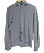 BARBA×BEAMS F(バルバ×ビームスエフ)の古着「ロングスリーブシャツ」|ネイビー