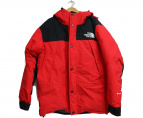 THE NORTH FACE(ザノースフェイス)の古着「Mountain Down Jacket」|レッド