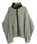 032C(032シー)の古着「Fleece Jacket Cement」 黄緑
