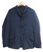 ()の古着「リバーシブルテーラードジャケット」 ネイビー