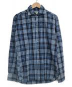 ORIAN(オリアン)の古着「チェックシャツ」|ブルー