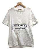GOLDEN GOOSE DELUXE BRAND(ゴールデングースデラックスブランド)の古着「プリントTシャツ」|ホワイト