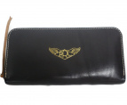 RRL(ダブルアールエル)の古着「A-2 Leather Travel Wallet」|ブラウン
