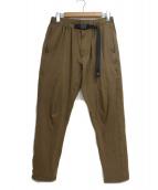 GRAMICCI × FREAK'S STORE(グラミチ×フリ-クスストア)の古着「NN JERSEY PANTS」 ブラウン