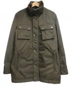 EPOCA UOMO(エポカウォモ)の古着「中綿コート」|カーキ