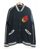POLO RALPH LAUREN(ポロラルフローレン)の古着「スカジャン」|ブラック