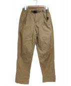 GRAMICCI(グラミチ)の古着「WEATHER TUCK TAPERED PANTS」|ベージュ