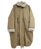 KBF(ケイビーエフ)の古着「4wayミリタリーコート」|ブラウン