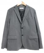 BEAUTY&YOUTH(ビューティーアンドユース)の古着「ツイル2Bジャケット」|グレー