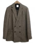 Altea(アルテア)の古着「ウールダブルジャケット」|ブラウン