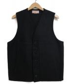 FILSON GARMENT(フィルソンガーメント)の古着「マッキーノベスト」|ブラック