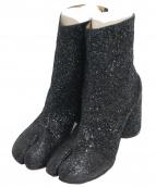 Maison Margiela22(メゾンマルジェラ22)の古着「ラメ足袋ブーツ」|ブラック
