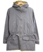 agnes b(アニエスベー)の古着「ドローコートジップジャケット」 グレー