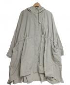 BEARDSLEY(ビアズリー)の古着「ポンチョコート」 ベージュ